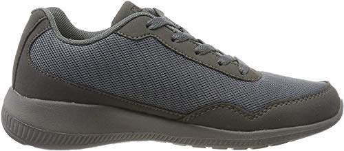 Kappa Follow OC, Zapatillas Unisex Adulto, Grey Black 1611, 45 EU
