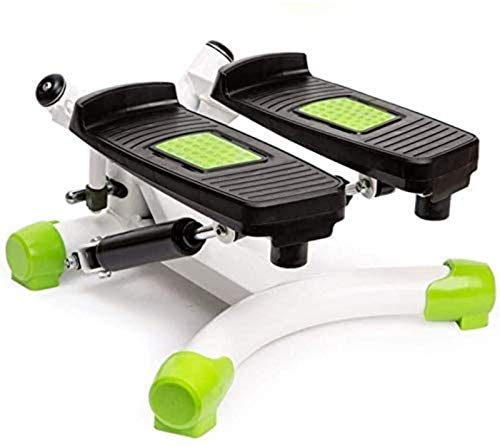 JISHIYU Máquina elíptica Cross Trainer Stepper Indoor Fitness Escaleras Escaleras Escaleras Ajustable Mini Fitness Stepper Ejercicio de Cardio Entrenador de ejercicios de giro Mini Stepper