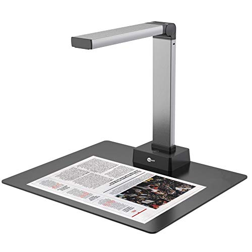Document Camera, BAOSHARE Portable Book Scanner 13MP Capture Size A3 Professional Photo Scanner NOT Compatible with Mac