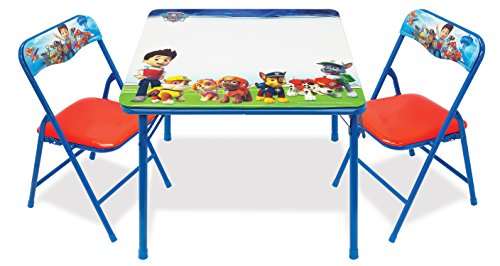 Paw Patrol 88595 Paw Patrol Erasable Activity Table Set Toy