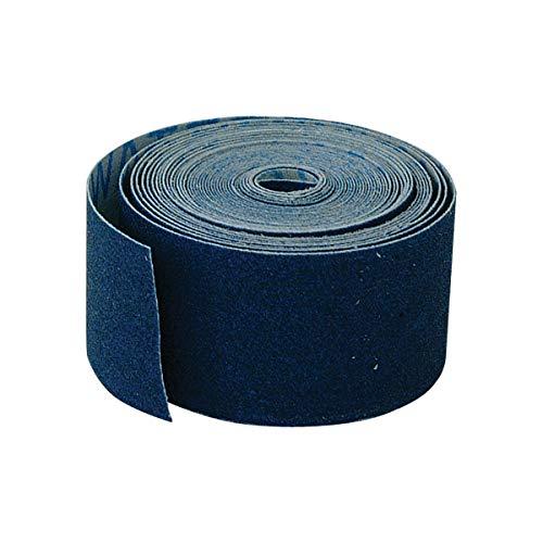 EZ-FLO 45205, Blue Waterproof Emery Cloth, 5 Yd Length, 1.5 x 1.5 x...