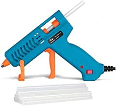 【50W】Hot Glue Gun, Tilswall Mini Hot Melt Glue Gun with 12pcs Glue Sticks, High Temperature Anti-drip Melting Glue Gun Kit for Quick Home Repair, Arts, Crafts, DIY & Sealing