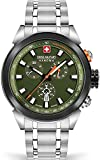 Hanowa Swiss Military Platoon Chrono Night Vision SMWGI2100271 Reloj de Pulsera para Hombres