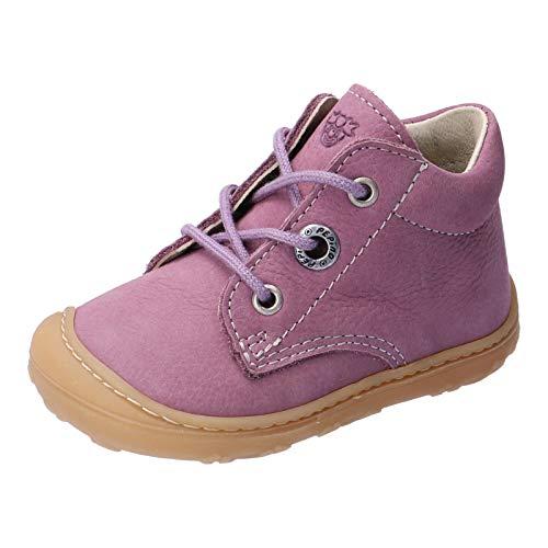 RICOSTA Kinder Lauflern Schuhe Cory von Pepino, Weite: Mittel (WMS), Freizeit schnürschuh schnürstiefelchen Kids,Purple,22 EU / 5.5 Child UK