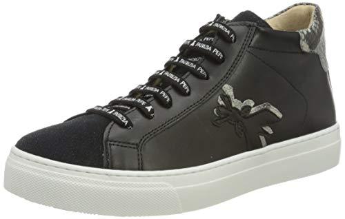 Patrizia Pepe PPJ507 Sneaker, Black, 38/38.5 EU
