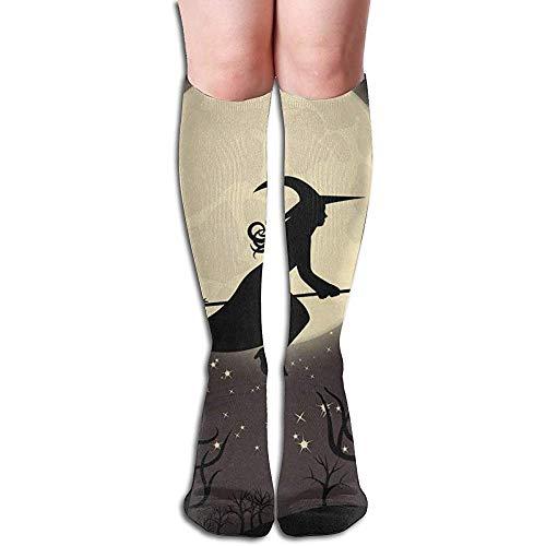 Not Applicable Compression Socks heks met bezem, speciale meisjessokken damessokken cadeausokken 50 cm