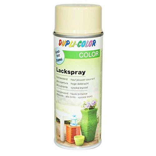 Dupli-Color 466571 Lackspray elfenbein glänzend 400 ml