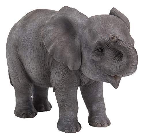Haustier-Kumpel-Baby-Elefant-Haus oder Garten-Dekoration | PZ-ELPH-F