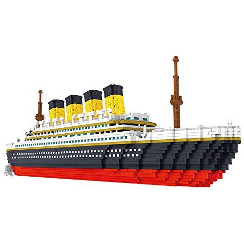 Montloxs 9913 Modelo Titanic Atomic Building Blocks Kit 3800pcs Juguete de regalo para niños