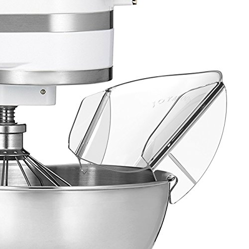 Pouring Shield, GUCHO Universal Pouring Chute for KitchenAid Bowl-Lift Stand Mixer Attachment/Accessories (pouringA)