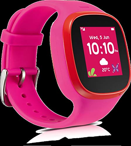 TCL MT30 Family Watch pink/rot - SIM Post