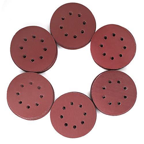 5 Inch 8 Holes Sanding Discs - 1000 to 3000 Grit Set