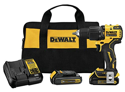 Why Choose DEWALT DCD709C2R ATOMIC 20V MAX Cordless Brushless 1/2-Inch Hammer Drill Kit (Renewed)