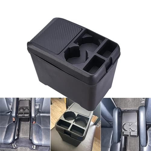 Aumo-mate Car Trash Can Organizer Interior Accessories Multi-Function Storage Box Beverage Cup Holder Storage Box Cans Holder for Automotive Cars SUV Truck Mini-Van, Black