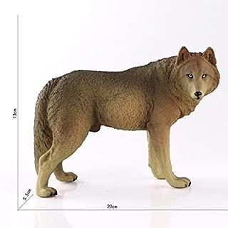 LOVELYTOY Ce Identification シミュレーション 動物園 玩具 プレーリー ティンバー ブラック ウルフ 動物 モデル ホリデー 必需品 ギフトラップ お気に入りのDVDスーパーヒーロー 教室 ワンコレクション ブルー