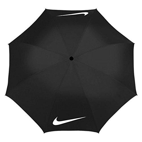 Nike Windproof–Regenschirm Golf - schwarz/weiß schwarz/weiß