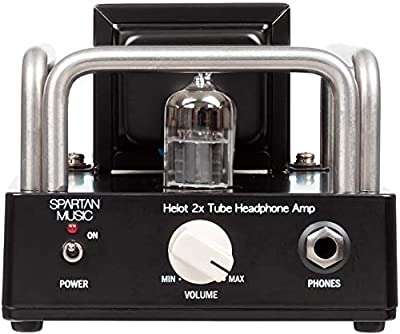 Helot 2x Headphone Vaccum Tube Valve Amplifier [12au7 / 12bh7] (Electro Harmonix Tubes) from Spartan Music