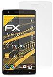 atFolix Panzerfolie kompatibel mit Medion Life X6001 / P6001 Schutzfolie, entspiegelnde & stoßdämpfende FX Folie (3X)