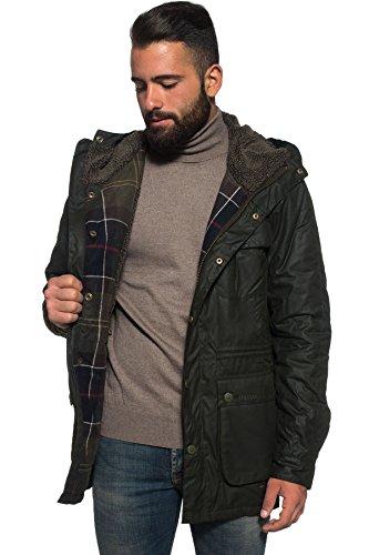 Barbour Brindle Wax Jacket Verde TG XL