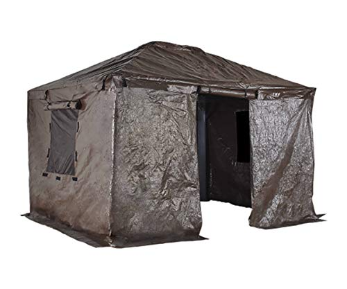 Sojag Accessories 12' x 16' Universal Winter Cover for Outdoor Sun Shelters and Gazebos, Brown