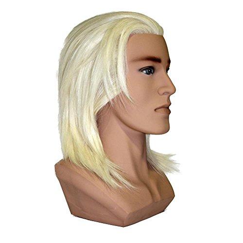 Tête école de compétition de coiffure à poils de yack MHK Blanc-16