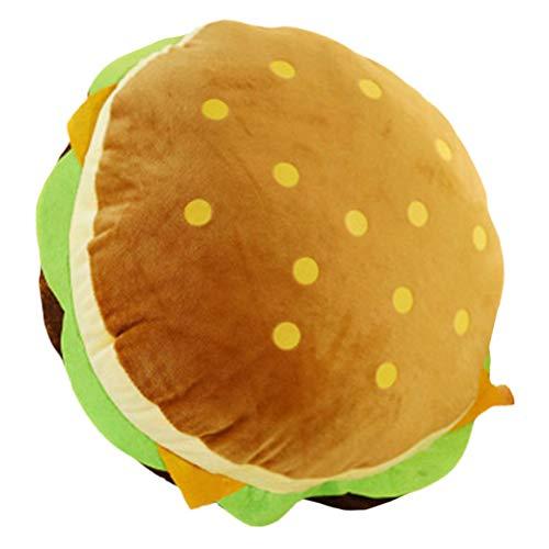 BESPORTBLE Essen Werfen Kissen Plüsch Riesigen Hamburger 30Cm Weiches Sofa Kissen Kissen Kinder Kinder Freund Familie Geschenk