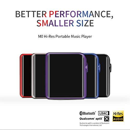 【国内正規品】SHANLINGハイレゾ音源対応ポータブルミュージックプレーヤーM0専用ケース同梱版ブラックM0-BK-SET