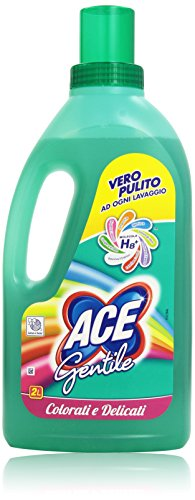 Ace - Gentile, Candeggina per Colorati e Delicati, 2 l