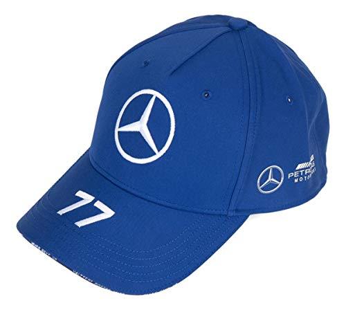 Official Formula one - Mercedes-AMG Petronas Motorsport 2020 - Gorra azul de Valtteri Bottas