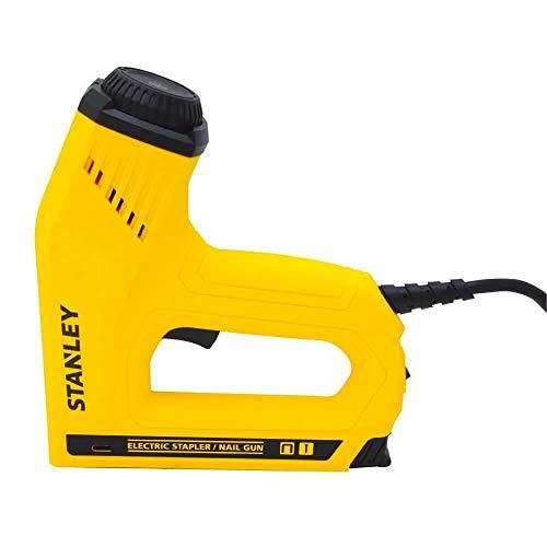 Stanley Hand Tools TRE550Z - Grapadora eléctrica y pistola de clavos