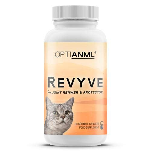 Astral Nutrition OPTIANML Revyve Cat Joint Supplement - 1 Month Supply | Improves Cat Joint Health | Supports Mobility