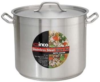 Stainless Steel 40-Qt Master Purchase Cook Stock 5 Pot mm Sacramento Mall alu Cover With