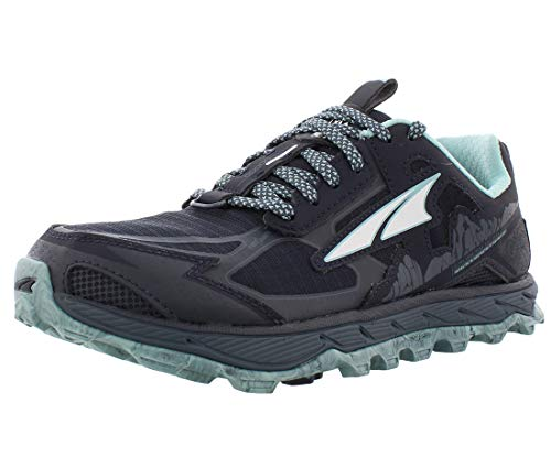 ALTRA Women's AL0A4QTX Lone Peak 4.5 Trail Running Shoe, Navy/Light Blue - 8.5 M US
