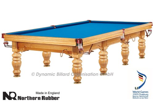 "Billardtisch ""Dynamic Prince"", 12 Fuß, esche, Snooker"