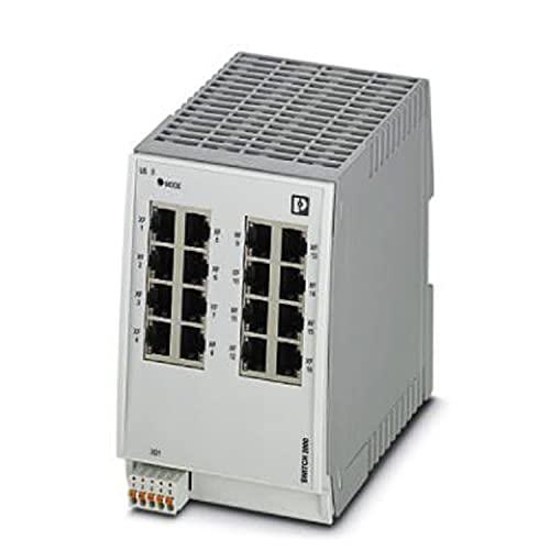 PHOENIX CONTACT FL SWITCH 2016 Conmutador gestionado 2000, 16 puertos RJ45 10/100 MBit/s, clase de protección: IP20, PROFINET Conformance Class A