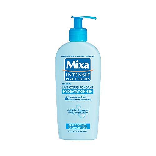 Mixa Lait pour Corps Fondant Hydratation 48H pour Peaux Sèches/Déshydratées 250 ml