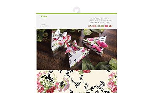Cricut Deluxe Paper, Rose Medley