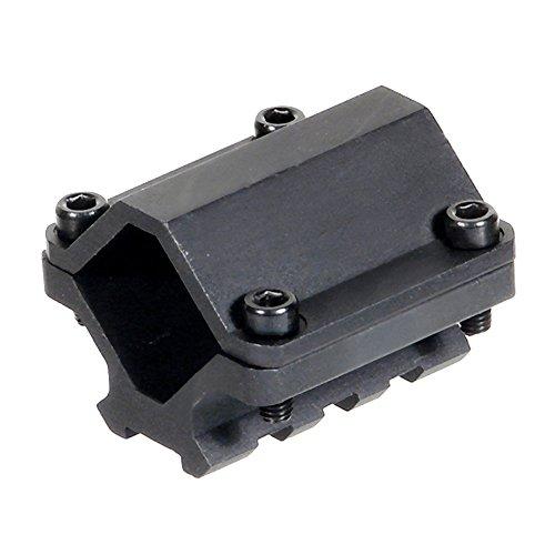 UTG MNT-BR003XLS Picatinny - Soporte para Pistola de Paintball (3 Ranuras), Color Negro