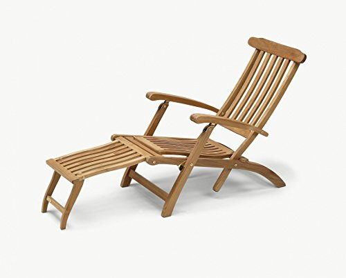 Skagerak Steamer Deckstuhl Deckchair aus Teakholz verstellbar