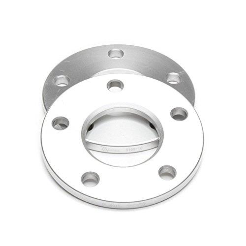 Preisvergleich Produktbild TA TECHNIX Spurverbreiterung Spurplatten 10mm pro Seite / 20mm pro Achse,  Lochkreis 5x108 mm