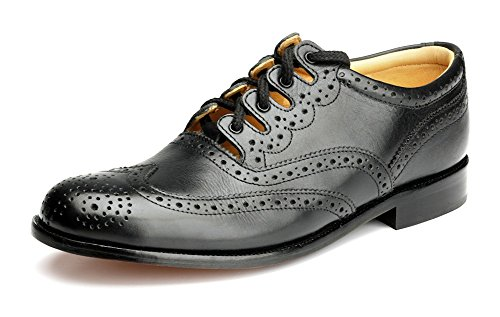 Thistle Piper Drummer Goodyear Welted Ghillie Brogues Comfortable Durable