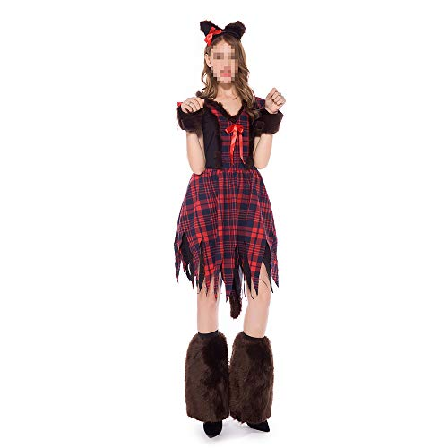 Halloween Adult Fancy Dress Kostuums, Kostuums Halloween kinderen Cosplay Halloween Party, Volwassen Masquerade Party Animal Fox Vrouwelijke Rol Spelen