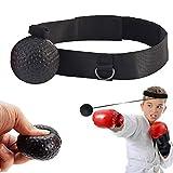 GRACETOP Boxaball Reflex Boxing Ball Fight Training Speed Video, Impara Le abilità di Base delle Arti Marziali i riflessi e l'abilità Livelli di migliora la velocità del Tempo di Reazione