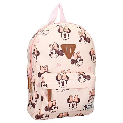 Disney Fashion Minnie Mouse Rocking It | Mochila | con una imagen de tu héroe favorito! | Ideal para los jóvenes aventureros | Marino Melocotón - Talla única