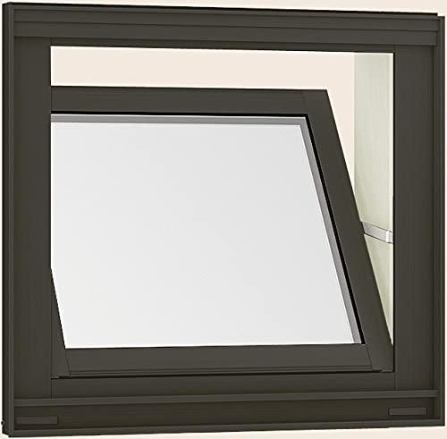 サーモスL 内倒し窓 06005 W:640mm × H:570mm ガラス種類:型4mm-A15-クリア3mm 製品色:ナチュラルシルバー(D/D) 網戸:固定式網戸(標準) LIXIL リクシル TOSTEM トステム