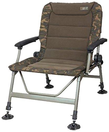 Fox nouvelle pêche à la carpe Séries R Camouflage Fauteuil - Toutes Les Tailles - R2 Camo Chair