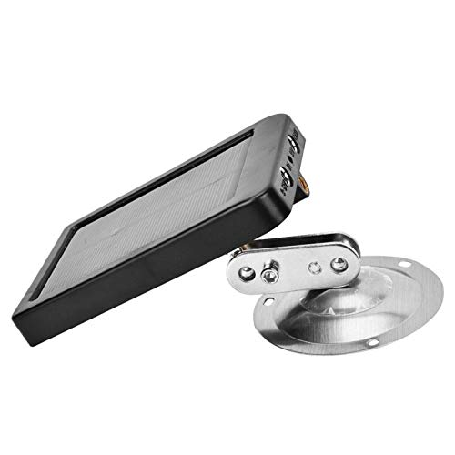 Installation Gürtel/Stativ Solar Power Ladegerät Batterie Einfach zu tragen Solar Panel Ladegerät Batterie, für Jagdkamera
