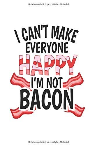Diabetes Tagebuch: Bacon Schinken Fleisch Grillen Steak Witz Geschenk Typ 1 & Typ 2, 120 Seiten, 59 Wochen, 6X9 (Ca. A5), Blutzuckertagebuch, Hypertonietagebuch