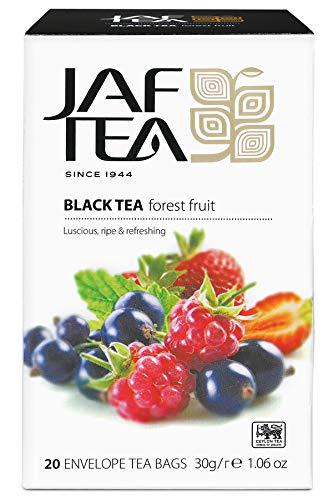JAF TEA Schwarzer Tee - Waldfrucht - 20 Teebeutel