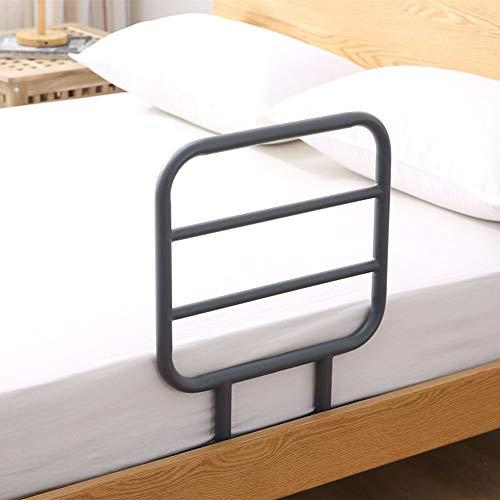 GHzzY Carril Auxiliar de Cama - Barandilla de Seguridad Junto a la Cama - Barra de Apoyo de pie para Ancianos y discapacitados - Protector de manija de Seguridad para prevención de caídas